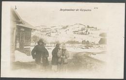 Ansichtskarte  - Bergbewohner Der Karpaten. - Ethnics