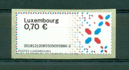 Symbool - Symbole - Selfpost Luxembourg 0,70 € - Vignettes D'affranchissement