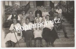 Immensee 1923, Auf Den Stufen Vom Kulm-Hotel (z5950) - SZ Schwyz