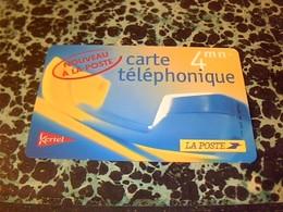 TELECARTE Carte Telephonique La Poste 4 MN NON UTILISÈE ( DATE PERIMÈE POUR COLLECTION) - Espacio