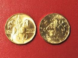 Czech Republic Tschechische Republik TSCHECHIEN 2018 20 Kc Umlaufmünze UNC Circulating Coin - Tschechische Rep.