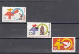 Cuba Nº 2632 Al 2634 - Cuba