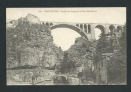Constantine  -  Entrée Des Gorges Et Le Pont Sidi Rached  - Mbf 26 - Constantine