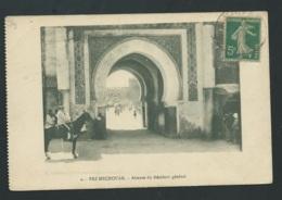 Fez Mechouar - Attente Du Résident Général    - Mbf 39 - Fez (Fès)