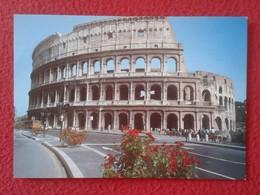 POSTAL POST CARD CARTE POSTALE ITALIA ITALY ROMA ROME EL COLISEO IL COLOSSEO LE COLISÉE THE COLOSSEUM DER KOLOSSEUMS VER - Roma (Rome)