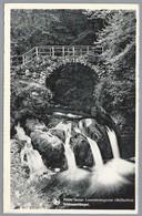LU.- MÜLERTHAL Petite Suisse Luxembourgeoise Schiessentümpel. 1960. THILL.  Waterval. Brug. - Muellerthal