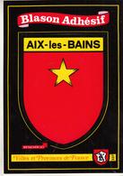"Blason  Adhésif  "" AIX- Les- BAINS "" - France"