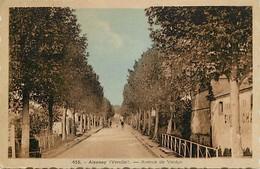 - Vendée -ref-E672- Aizenay - Avenue De Verdun - Carte Bon Etat - - Aizenay