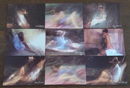 LOT A - 32 Cartes Postales Romantisme Sexy Fille Photographies De Jacques Dhimoléa. - 5 - 99 Postcards
