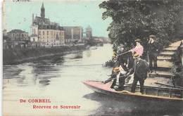 De CORBEIL, Recevez Ce Souvenir - Fantaisie - Pêcheur - Corbeil Essonnes