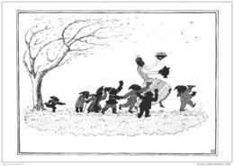 5 AK Mit Motiv Schneewittchen Und Die Sieben Zwerge (D-A127) - Fairy Tales, Popular Stories & Legends