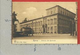 CARTOLINA NV ITALIA - ROMA - Palazzo Del Quirinale - E. Risi - 9 X 14 - Roma (Rome)
