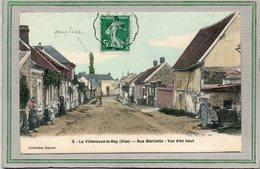 CPA - La VILLENEUVE-le-ROY (60) - Aspect De La Rue Gloriette En 1911 - Carte Colorisée - France
