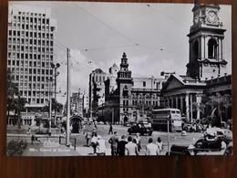 SOUTH AFRICA, Centre Of DURBAN, Auto, Bus , Animée,  Années 50, Ed Artco ,TB - South Africa