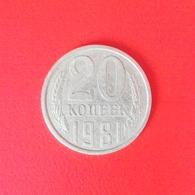 20 Kopeken Münze Aus Der Sowjetunion Von 1981 (sehr Schön) - Russland