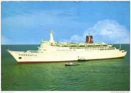 Hafen / Harbour / Port / Schiffe / Ships / Bateaux: TS Hanseatic (D-A219) - Schiffe