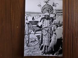 SOUTH AFRICA, Ricksha Boy On The Beach , DURBAN  Pousse Pousse ,années 50, Ed Artco ,TB - South Africa