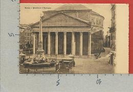 CARTOLINA NV ITALIA - ROMA - Pantheon D'Agrippa - 9 X 14 - Panthéon