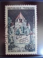 """1960-69   Timbre Oblitéré N°   1392 A  """"  Tour De Provins    """"  0.80 - France"""