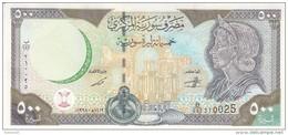 SYRIA 500 LIRA POUNDS 1998 P-110 UNC */* - Siria