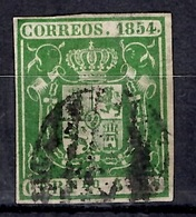 Espagne YT N° 26 Oblitéré. B/TB. A Saisir! - 1850-68 Royaume: Isabelle II