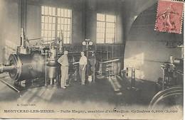 MONTCEAU LES MINES PUITS MAGNY Machine D'extraction - Montceau Les Mines