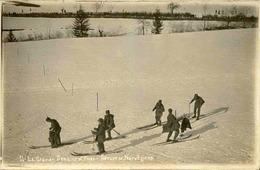 SPORTS - Carte Postale- Aux Sports D 'Hiver - Groupe De Norvégiens - L 29965 - Sports D'hiver