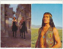 2 AK Winnetou / Pierre Briece / Lex Barker / Dan Martin (D-A187) - Actors