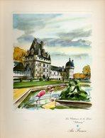 Menu Air France Ligne Paris New-York Du 16 Septembre 1956 - Menus