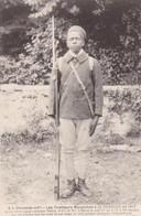 "17. LA TREMBLADE. CPA. LES TIRAILLEURS MALGACHES EN 1917.LE TIRAILLEUR ENGAGE VOLONTAIRE "" TSIKIZA "" - Guerre 1914-18"