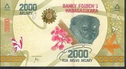 MADAGASCAR P101 2000 ARIARY ( 2017 ) Issued 17.07.2017 UNC. - Madagascar