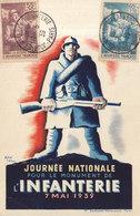 JOURNEE NATIONALE POUR LE MONUMENT DE L.INFANTERIE    /// REF  MAI .19 /// N° 8842 - Cartes-Maximum