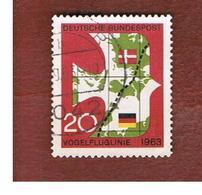 GERMANIA (GERMANY) - SG 1313  - 1963  DENMARK-GERMANY RILWAY  - USED° - [7] Federal Republic