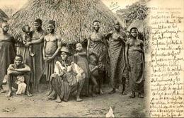 ETHNIQUES - Carte Postale - Chef De Zagnanado Et Sa Famille - L 29969 - Africa