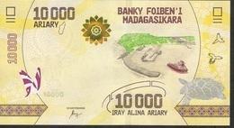 MADAGASCAR P103  10000 = 10.000 ARIARY ( 2017 ) Issued 17.07.2017 UNC. - Madagascar