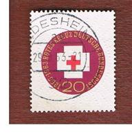 GERMANIA (GERMANY) - SG 1314  - 1963  RED CROSS CENTENARY  - USED° - [7] Repubblica Federale