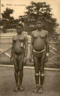 ETHNIQUES - Carte Postale - Bangui - Deux Demoiselles - L 29971 - Afrique