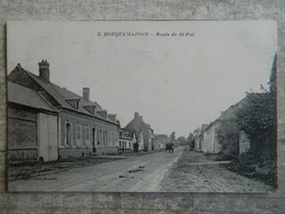 BOUQUEMAISON  ROUTE DE ST POL - France
