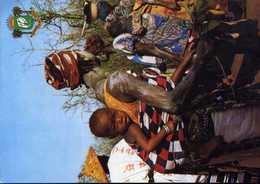 CPM - Fête Au Village - Ivory Coast