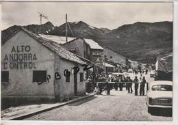 CPSM - PHOTO - ANDORRE - PAS DE LA CASA - Alt. 2085 M. Frontière Franco - Andorrane - Animation - Douane - Pas Courante - Andorra