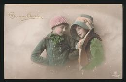 MOOIE MEISJES  BELLE FILLETTES   CARTE PHOTO / FOTOKAART - Bambini
