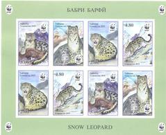 2019. Tajikistan, WWF, Snow Leopard, Sheetlet Imperforated, Mint/** - Tadjikistan