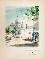 Menu Air France Ligne Paris Mexico Du 23 Janvier 1955 - Menu