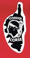 1 Autocollant CORSICA CORSE - Autocollants