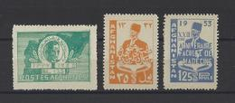 AFGHANISTAN.  YT  N° 348-411-412  Neuf **  1950 - Afghanistan