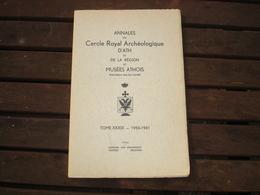 ATH - ANNALES DU CERCLE ARCHEOLOGIQUE DE ATH ET REGION - TOME XXXIX - 1956 1961 - Belgique