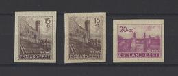 ESTONIE.  YT  N° 4-5  ND Neuf Sans Gomme  1940 - Estonia