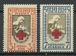ESTLAND Estonia 1922 Michel 29 - 30 A MNH - Estonie