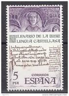 ESPAÑA 1977 MILENARIO DE LA LENGUA CASTELLANA - EDIFIL Nº 2428 - Yvert 2074 - 1931-Hoy: 2ª República - ... Juan Carlos I