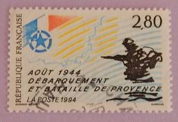 """FRANCE YT 2895 OBLITÉRÉ """" DÉBARQUEMENT"""" ANNÉE 1994 - Frankreich"""